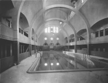 Le bain Généreux, 1928. Photo : Rice, Institut de technologie agroalimentaire de Saint-Hyacinthe