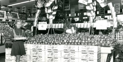 <b>Dominion Stores, circa 1960</b> Archives Courchesne, Larose Limitée