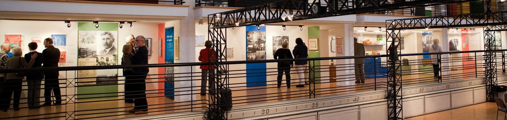 <b>Exposition <i>Run de lait,</i> 2010.</b> Photo : Julie Landreville, Écomusée du fier monde