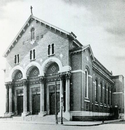 Church of Sainte-Marguerite-Marie-Alacoque (today Notre-Dame-de-Guadalupe), date unknown. Écomusée du fier monde