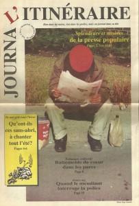 Journal L'Itinéraire, vol. 1, no 1, 1994. Groupe L'Itinéraire.