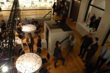 Banquet with a bar at the back. Photo: Marie-Claude Plasse, Écomusée du fier monde