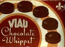 Whippet biscuit box, 1945. Viau collection, Écomusée du fier monde