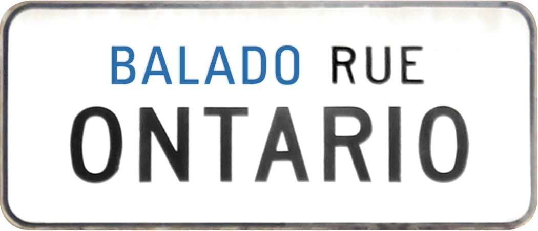 Balado rue Ontario