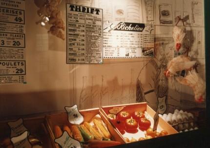 <b><i>Du marché d'hier au musée de demain</i> exhibition, 1981.</b> Écomusée du fier monde