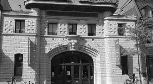 Façade de l'Écomusée, sur la rue Amherst. Photo : Écomusée du fier monde