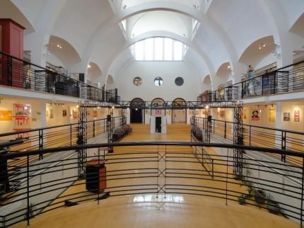 Vue intérieure de l'Écomusée, 2012. Photo : Marie-Josée Lemaire-Caplette, Écomusée du fier monde