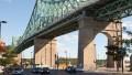 Pont Jacques-Cartier, 2011. Photo : Julie Landreville, Écomusée du fier monde