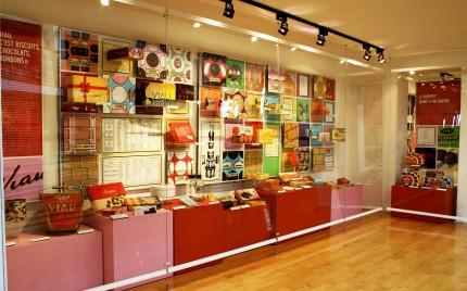 Viau : des biscuits, une histoire exhibition, 2006. Photo: Julie Landreville, Écomusée du fier monde