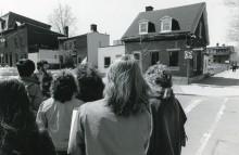 <b>Circuit urbain, vers 1983.</b> Écomusée du fier monde