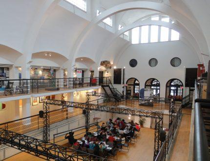 <b>Vue intérieure de l'Écomusée.</b> Photo : Marie-Josée Lemaire-Caplette, Écomusée du fier monde