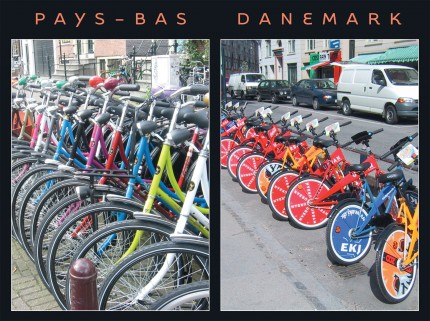Carte postale Pays-Bas-Danemark_recto