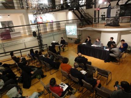 Table ronde - De l'action culturelle à l'action collective, 23 janvier 2013. Photo : Maria Luisa Romano, Écomusée du fier monde