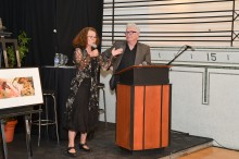 <b>Encan bénéfice de l'Écomusée avec Winston McQuade et Annie Reynaud, 7 mai 2013.</b> Photo Daniel Roussel