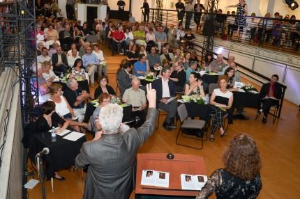<b>Encan bénéfice de l'Écomusée, 7 mai 2013.</b> Photo Daniel Roussel