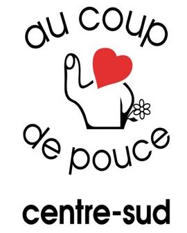 Logo Au Coup de Pouce Centre-Sud