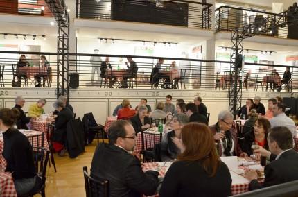 <strong><em>De la taverne... au musée!</em> event, 2013.</strong><br /> Photo: Marie-Claude Plasse, Écomusée du fier monde