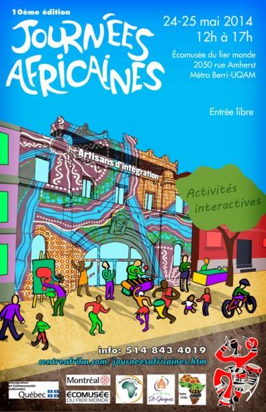 AFFICHE Journées Africaines