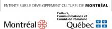 Logo entente Ville de Montréal et MCCQ