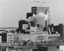 L'usine Molson, 1995. Écomusée du fier monde