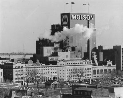 Molson Plant, 1995. Écomusée du fier monde