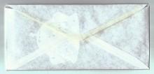 <b><i>Éloges</i> (détail), élément d'échange épistolaire, 2011.</b><br /> Élise Robichaud-Guilbault