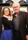 Annie Reynaud et Winston McQuade. Photo : David Lacombe, Écomusée du fier monde