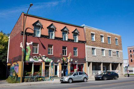 Facade of Café Coop Touski, Ontario Street, 2012.