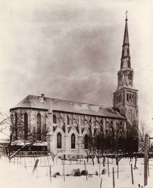 Église Saint-Pierre-Apôtre vers 1900
