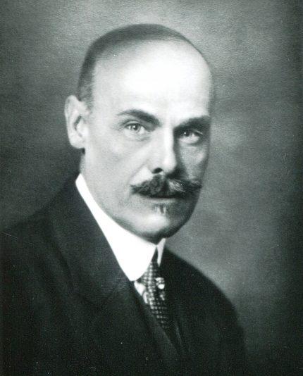 J. O. Marchand, circa 1914. Archives of the Ordre des architectes du Québec
