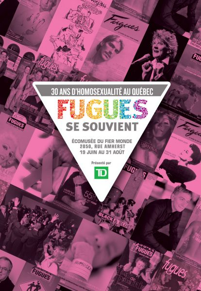 Fugues se souvient  : 30 years of Homosexuality in Qubec, 2014.