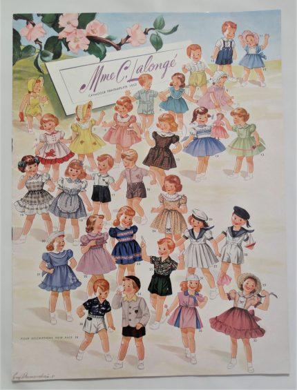 C. Lalongé Catalog, Spring-Summer, 1952. Écomusée du fier monde.